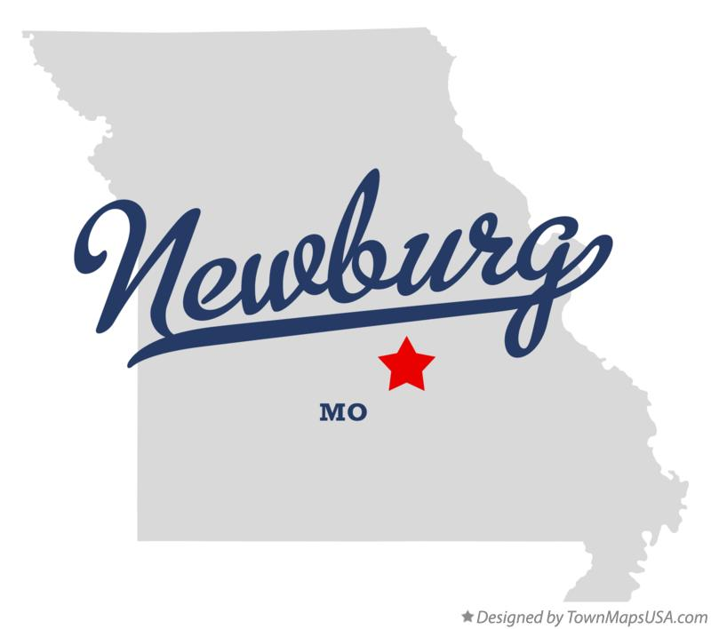 Map of Newburg Missouri MO