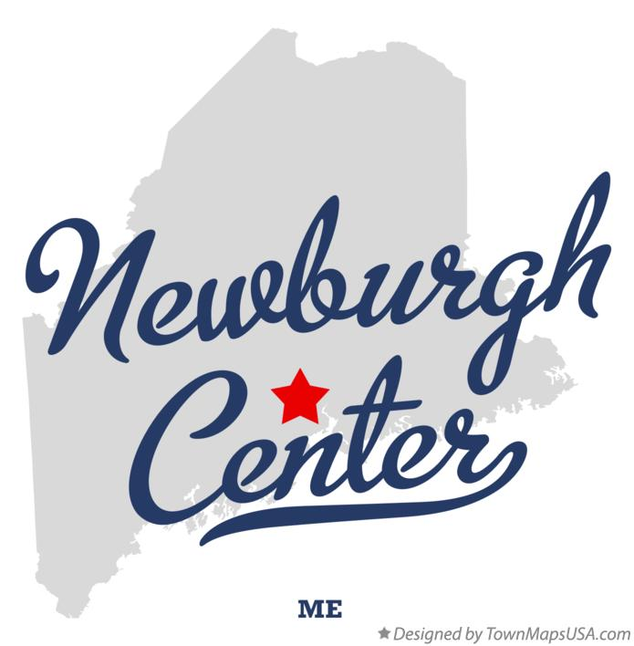 Map of Newburgh Center Maine ME