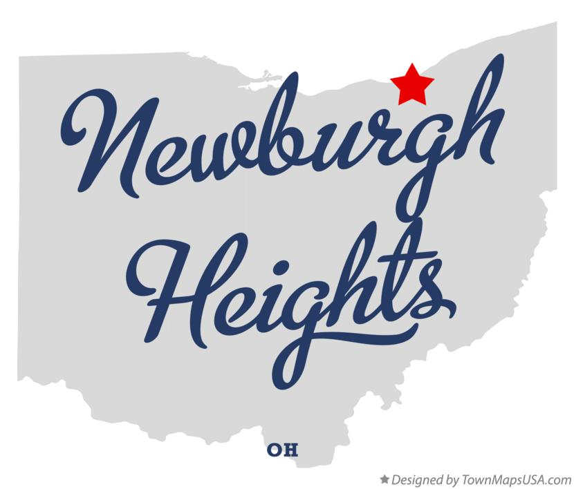 Map of Newburgh Heights Ohio OH