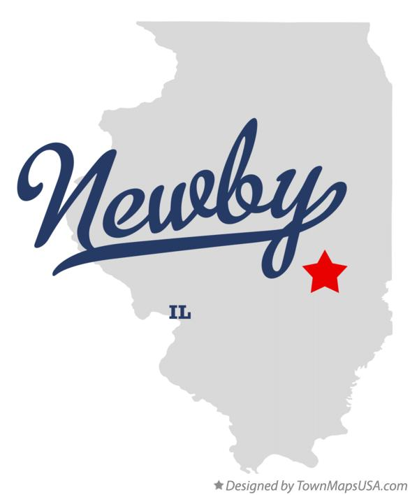 Map of Newby Illinois IL