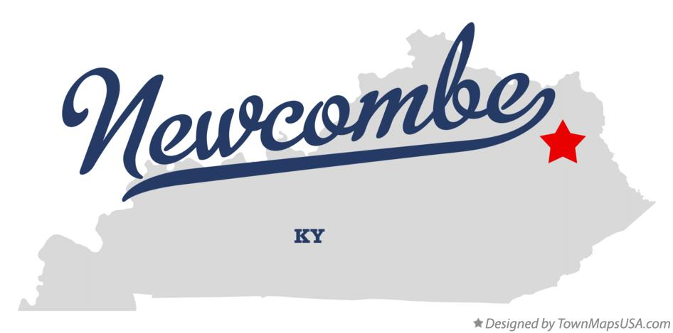 Map of Newcombe Kentucky KY