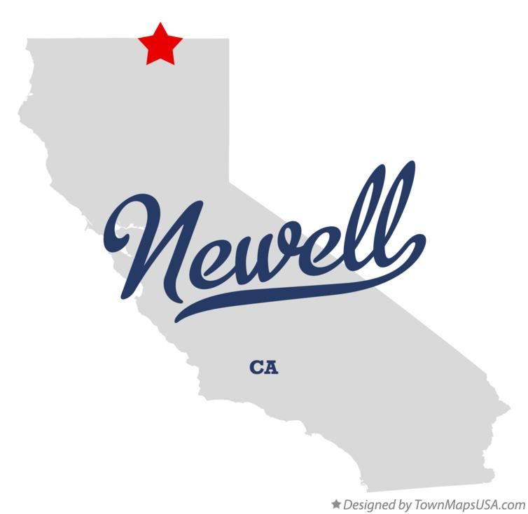Map of Newell California CA