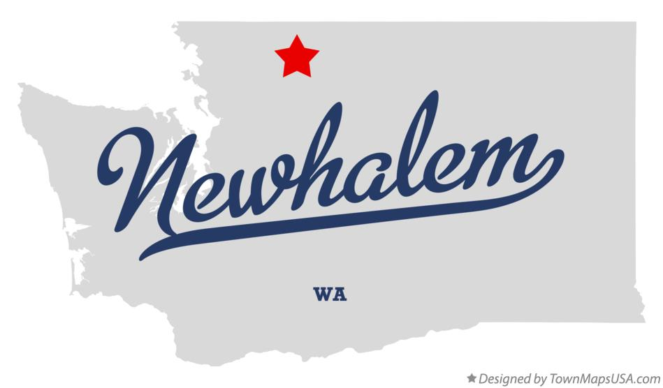 Map of Newhalem Washington WA