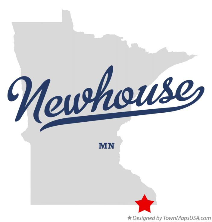 Map of Newhouse Minnesota MN