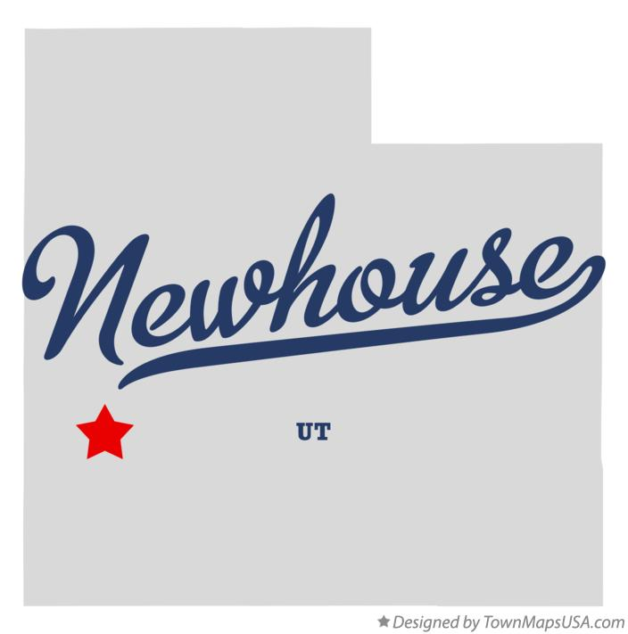 Map of Newhouse Utah UT