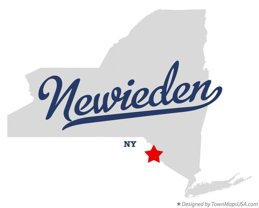 Map of Newieden New York NY
