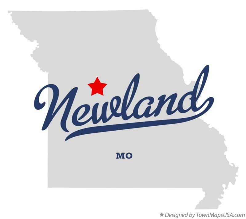 Map of Newland Missouri MO