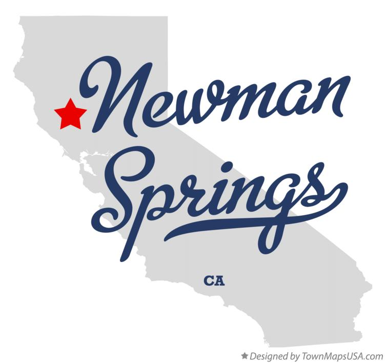 Newman California Map.Map Of Newman Springs Ca California