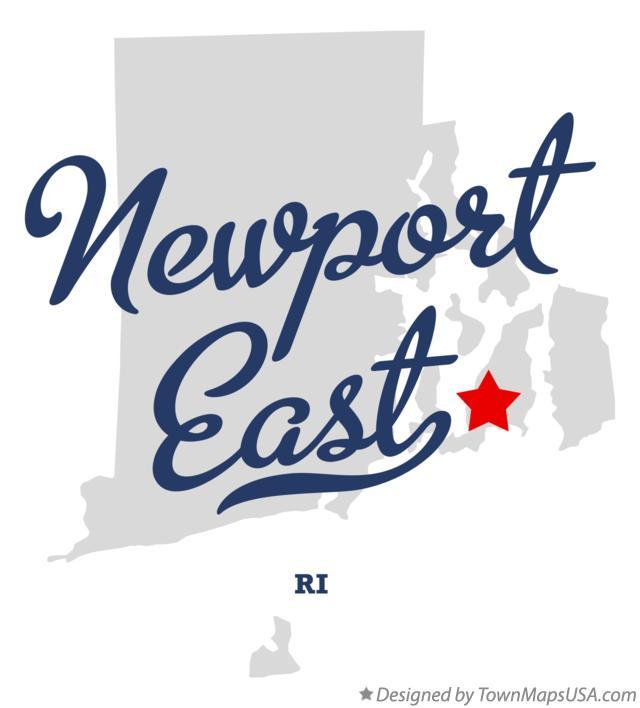 Map of Narragansett Bay Narragansett Rhode Island Map