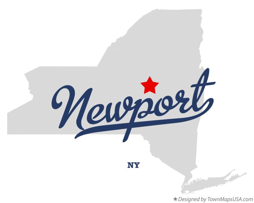 Map of Newport New York NY