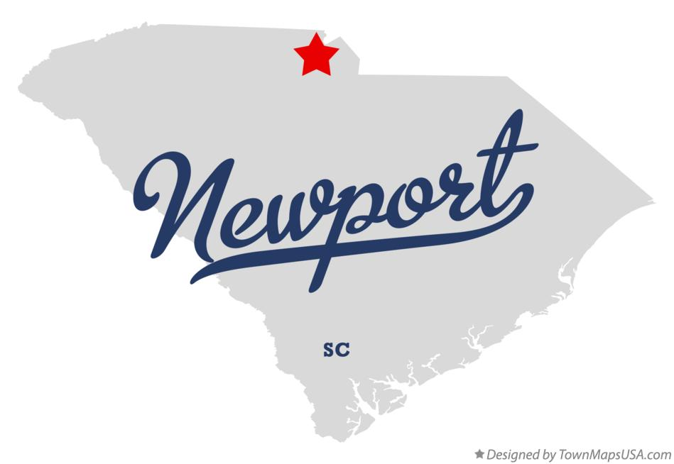 Map of Newport South Carolina SC