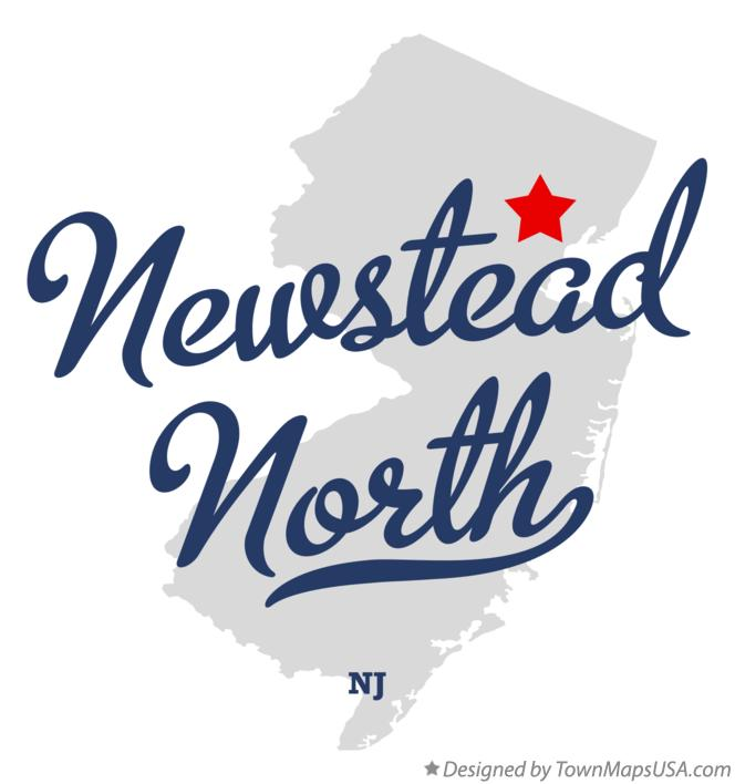 Map of Newstead North New Jersey NJ