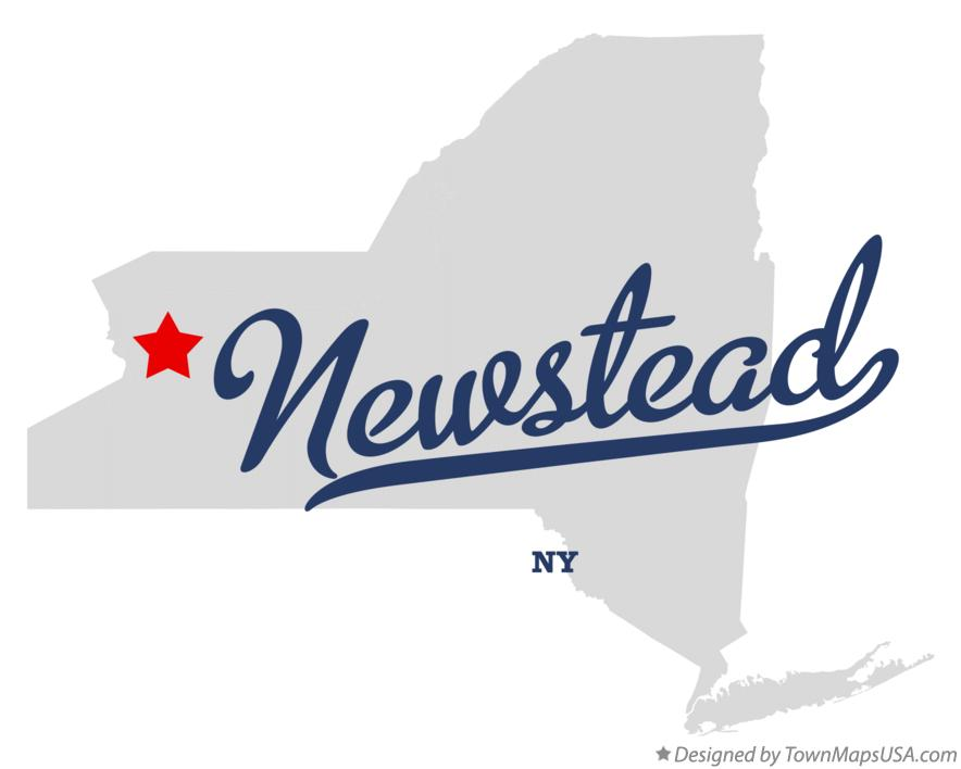 Map of Newstead New York NY