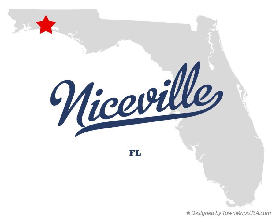 Niceville Florida Map.Map Of Niceville Fl Florida