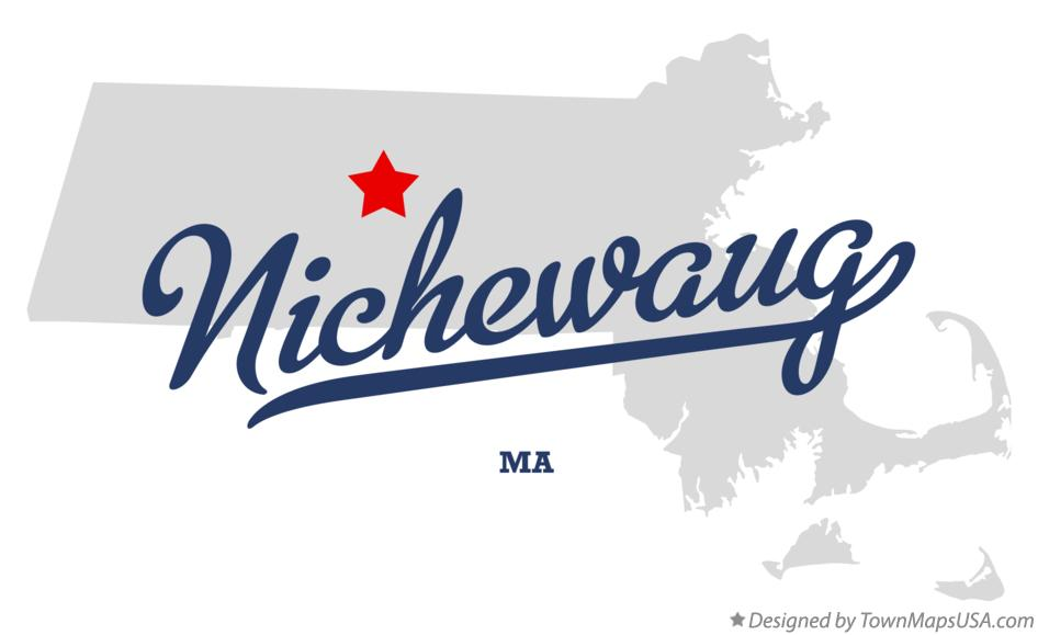 Map of Nichewaug Massachusetts MA
