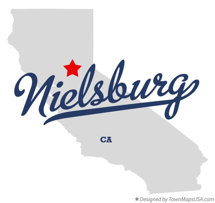 Map of Nielsburg California CA