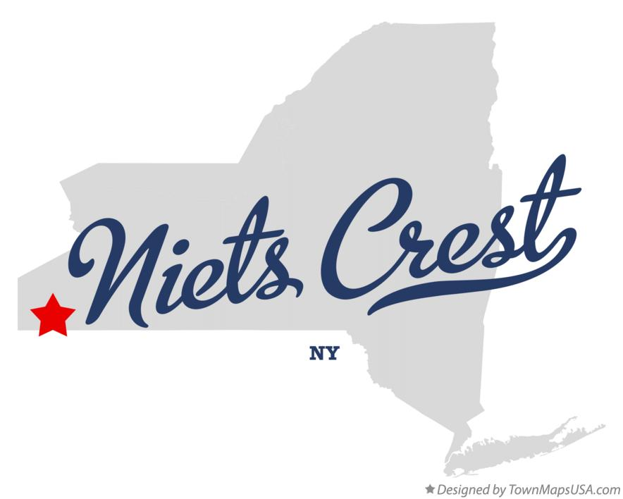 Map of Niets Crest New York NY