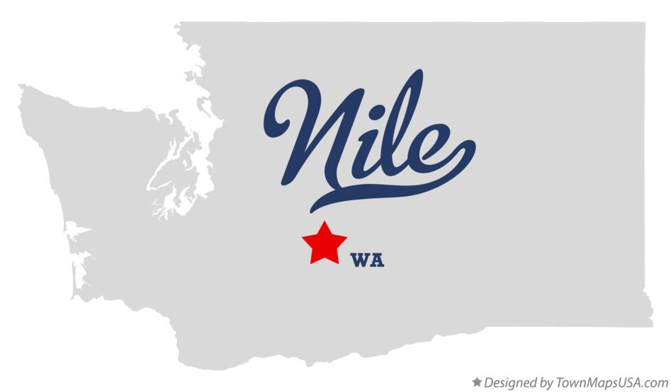 Map of Nile Washington WA