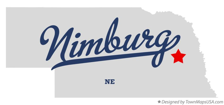 Map of Nimburg Nebraska NE