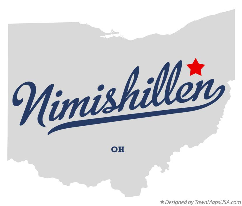 Map of Nimishillen Ohio OH
