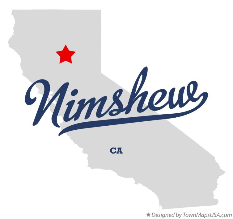 Map of Nimshew California CA