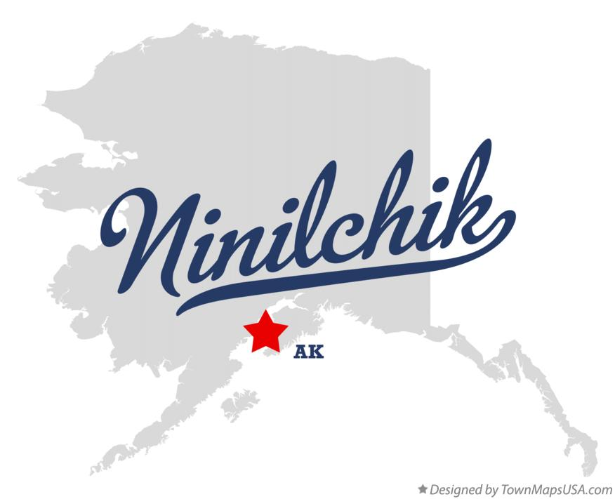 Map of Ninilchik Alaska AK