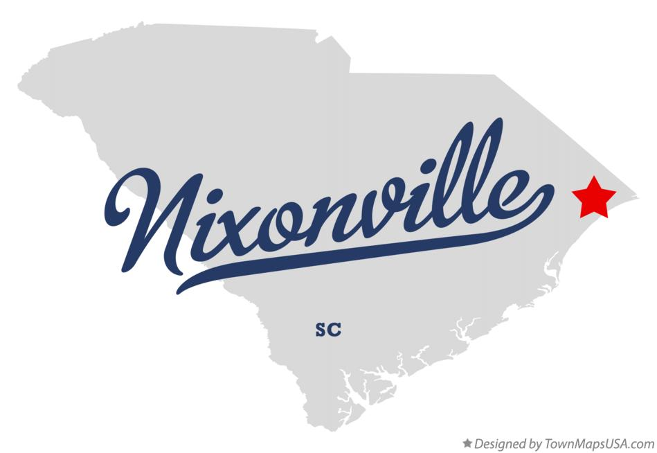 Map of Nixonville South Carolina SC
