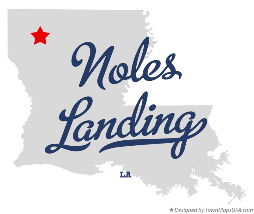 Map of Noles Landing Louisiana LA