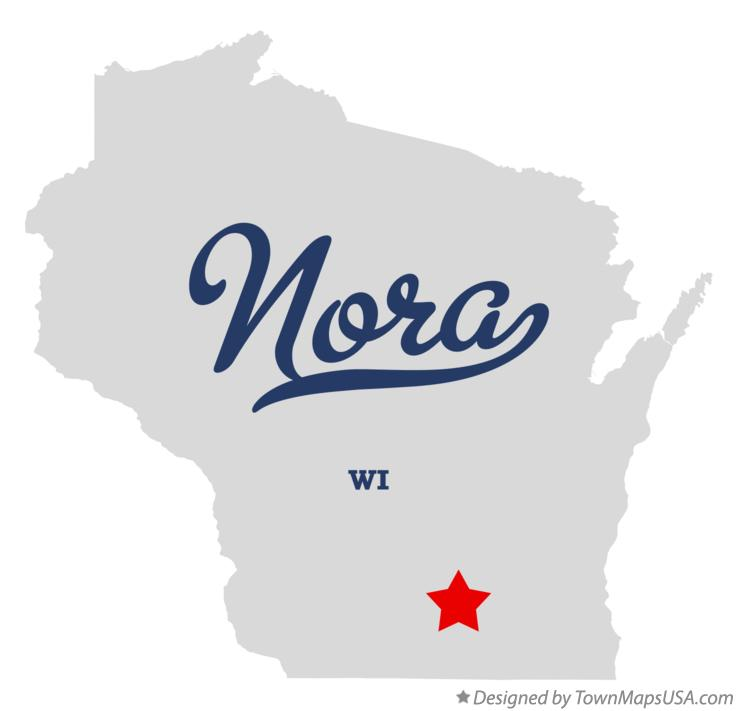 Map of Nora Wisconsin WI