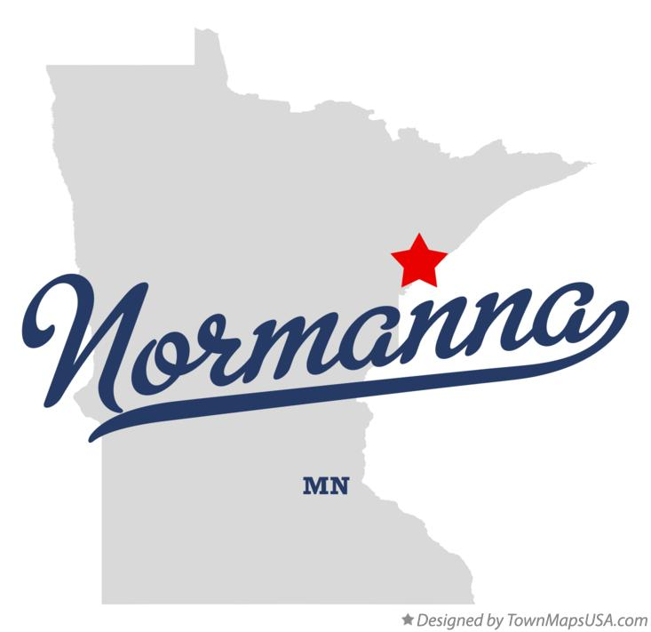 Map of Normanna Minnesota MN