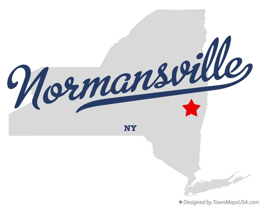 Map of Normansville New York NY