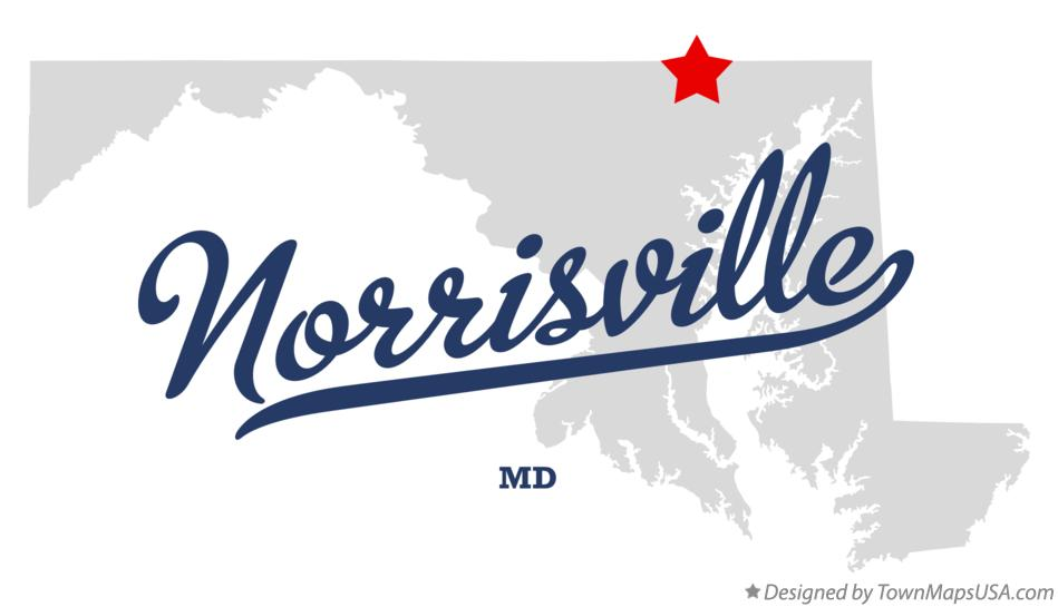 Map of Norrisville Maryland MD