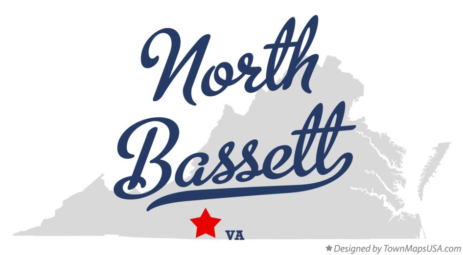 Map of North Bassett Virginia VA