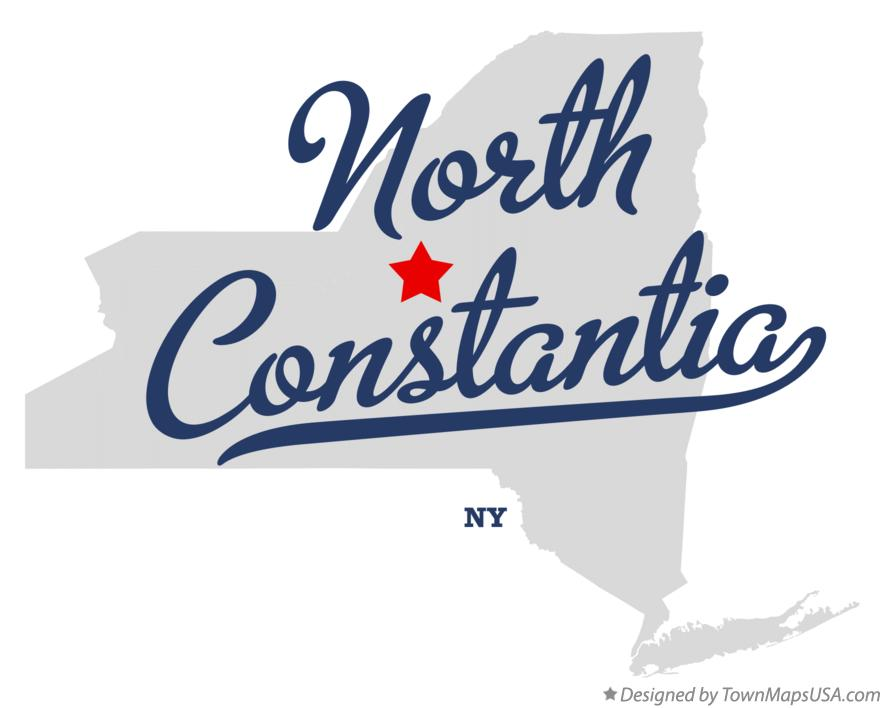 Map of North Constantia New York NY