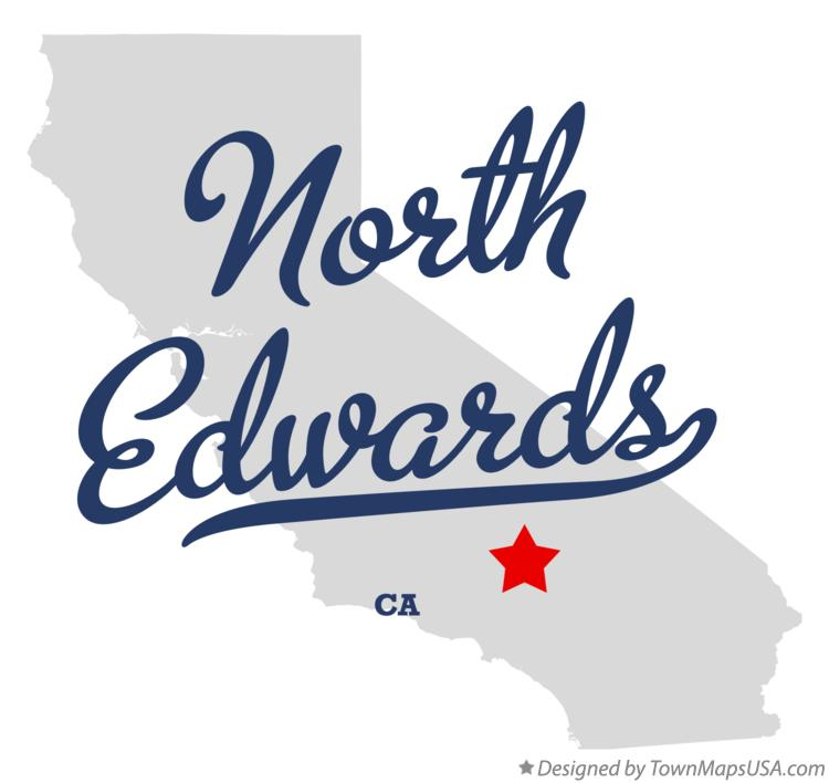 Map of North Edwards California CA