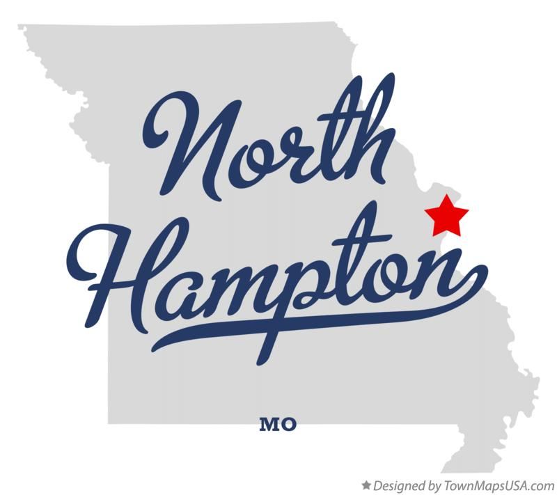 Map of North Hampton Missouri MO
