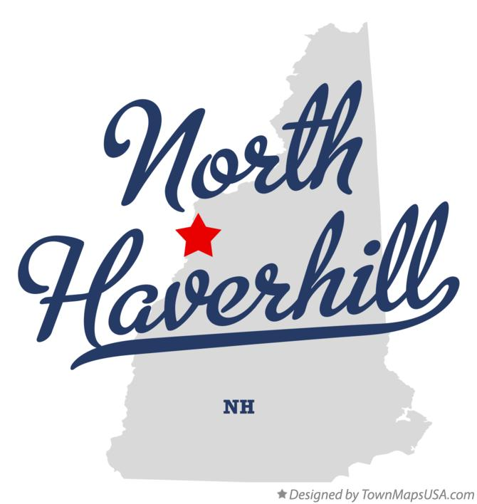 Map of North Haverhill New Hampshire NH