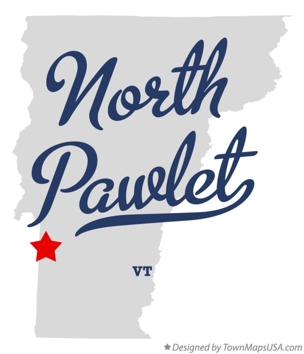 Map of North Pawlet Vermont VT
