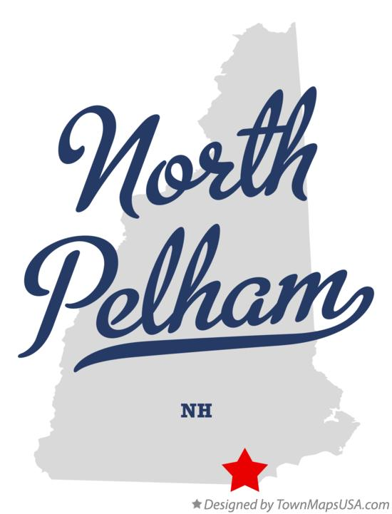 Map of North Pelham New Hampshire NH