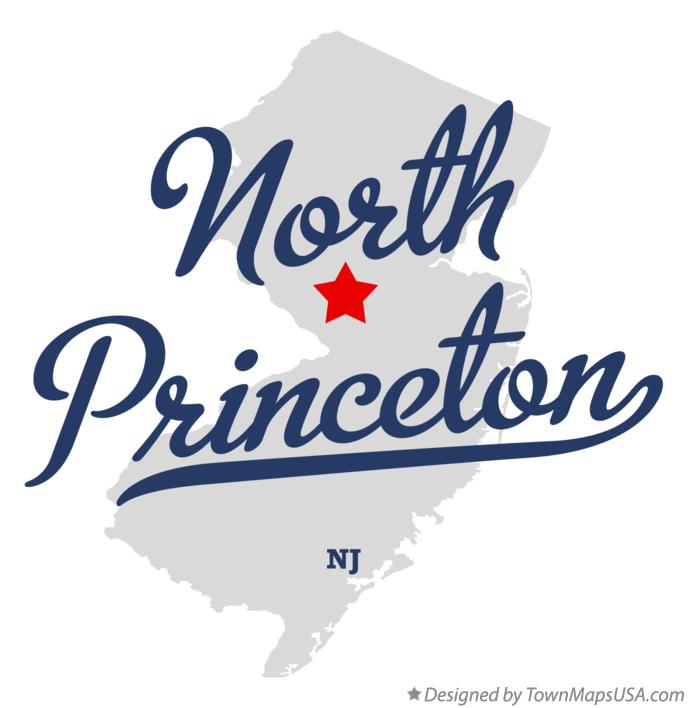 Map of North Princeton New Jersey NJ