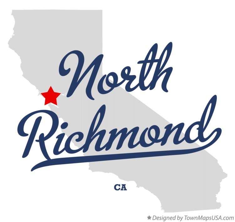Map of North Richmond California CA
