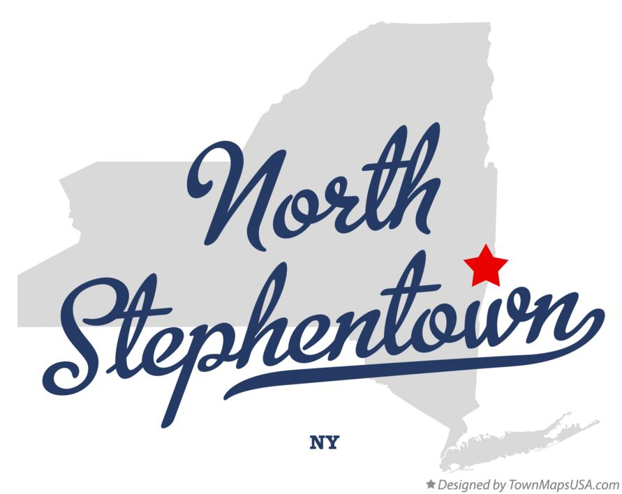 Map of North Stephentown New York NY