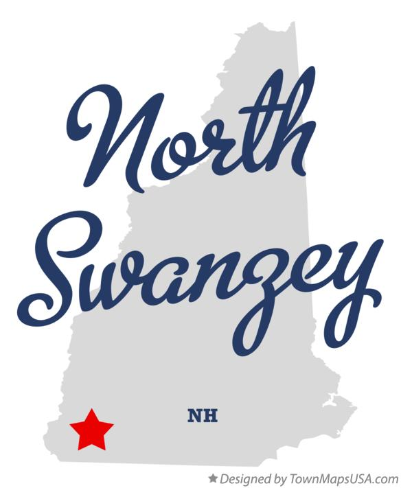 Map of North Swanzey New Hampshire NH