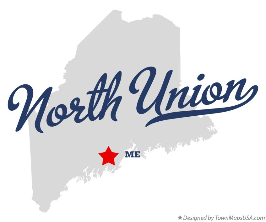 Map of North Union Maine ME