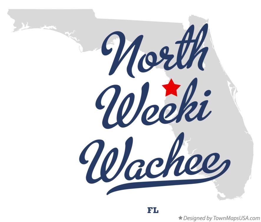 Weeki Wachee Florida Map.Map Of North Weeki Wachee Fl Florida
