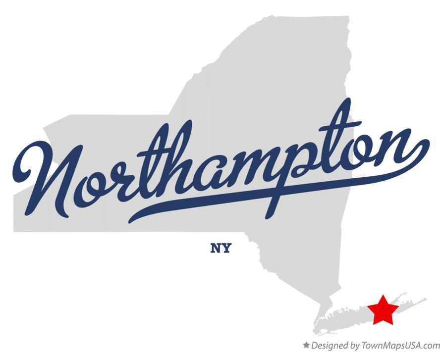 Map of Northampton New York NY