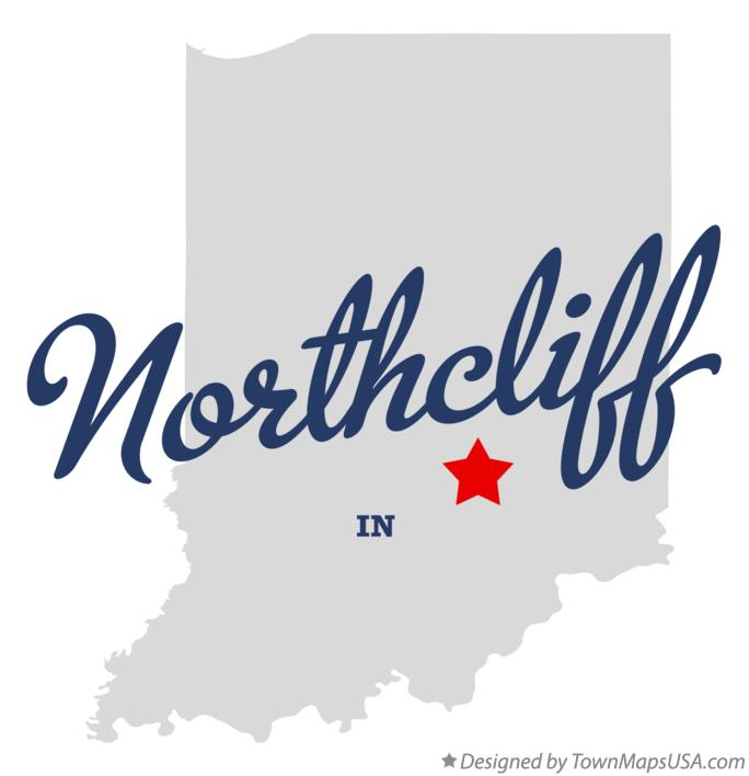 Map of Northcliff Indiana IN