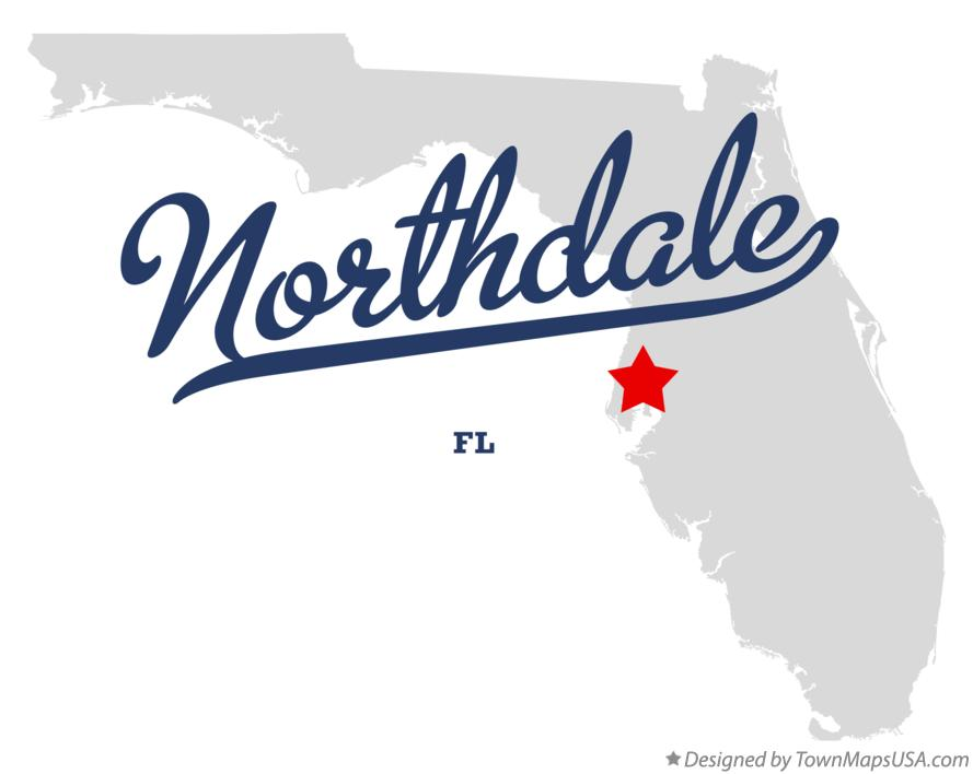 Map of Northdale Florida FL