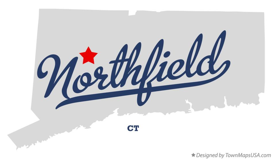 Map of Northfield Connecticut CT