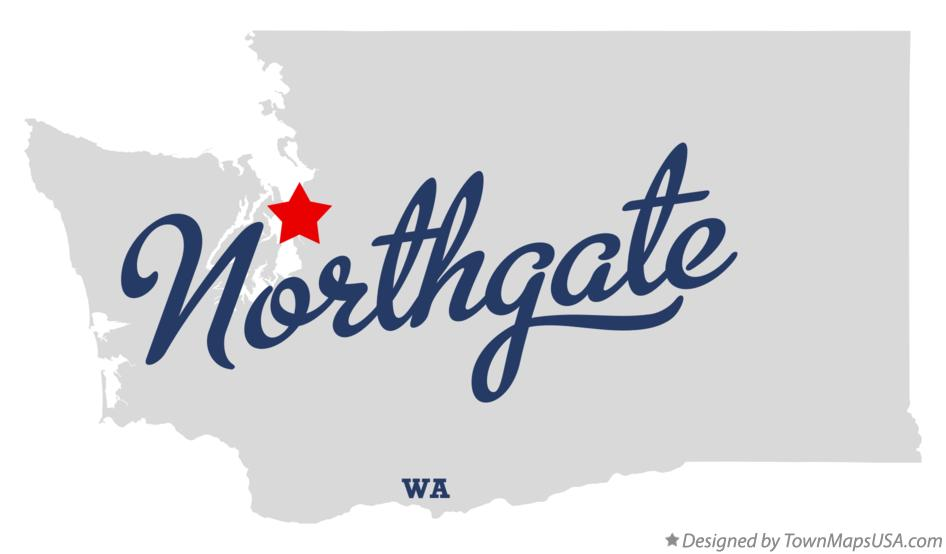 Map of Northgate Washington WA